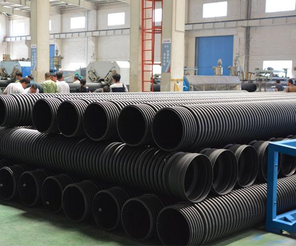 双壁波纹管在污水治理及地下管网改造中发挥重要作用